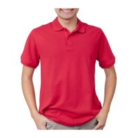 Deals on George Young Men's Short Sleeve Polo