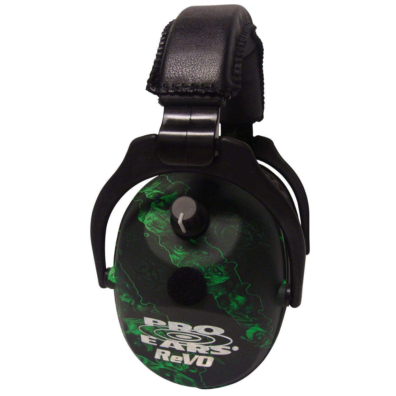 Pro Ears ReVO Electronic Ear Muffs, NRR 25 Zombie