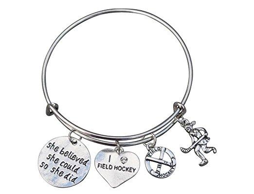 Hockey Necklace Hockey Jewelry Hockey Girl Field Hockey Jewelry Field Hockey Necklace Girls Field Hockey Gifts Field Hockey Gifts