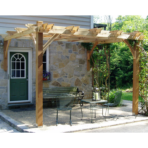 Outdoor Living Today Breeze 12 Ft. W x 12 Ft. D Pergola