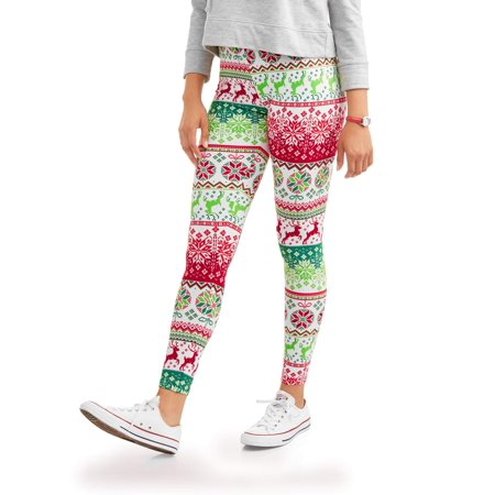 aac3e914f0091b Juniors' Sueded Jersey Ankle Leggings (Prints & Solids) – Walmart ...