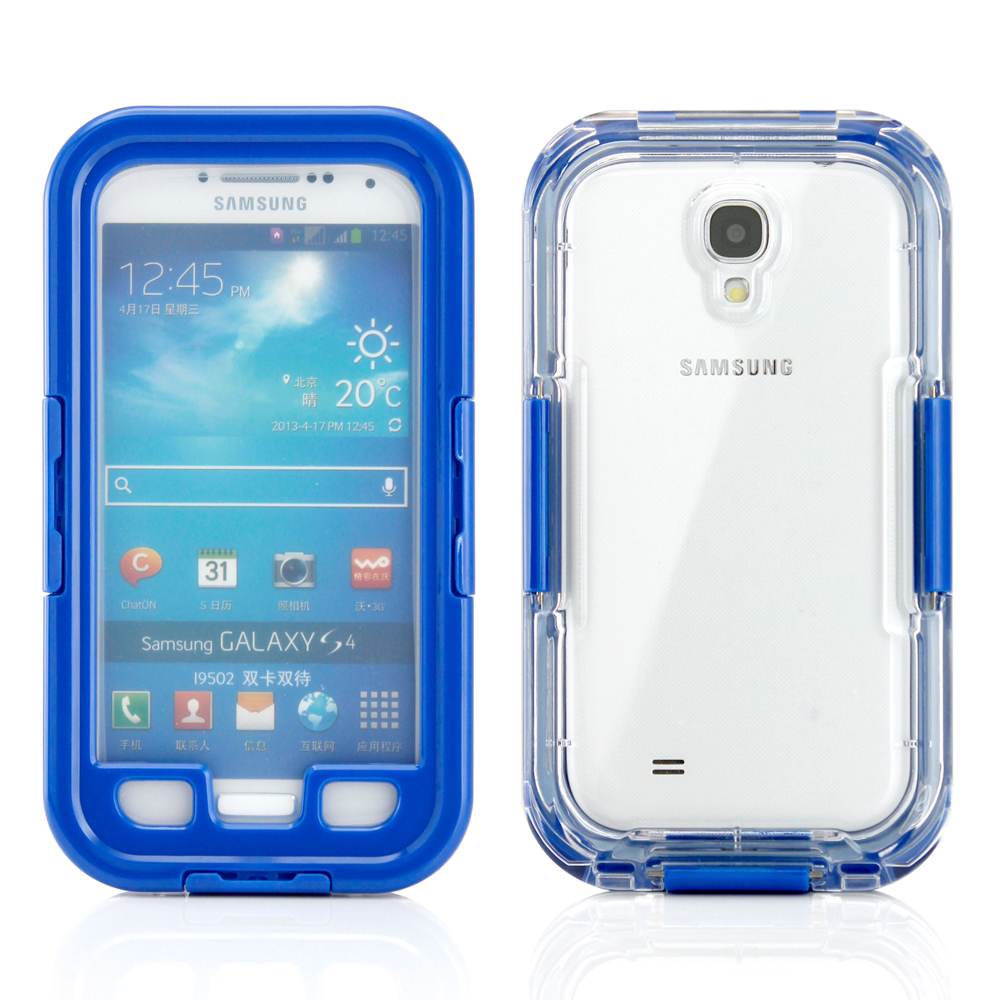 Waterproof and Shockproof Dirt Snow Proof Durable Case Cover for Samsung Galaxy S4 SIV i9500