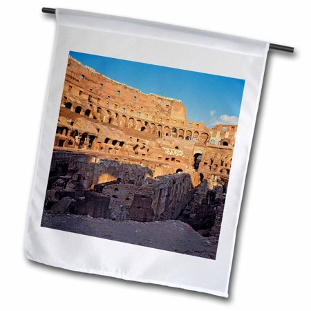 Image of 3dRose Italy, Rome. The Colosseum - EU16 RER0063 - Ric Ergenbright - Garden Flag, 12 by 18-inch