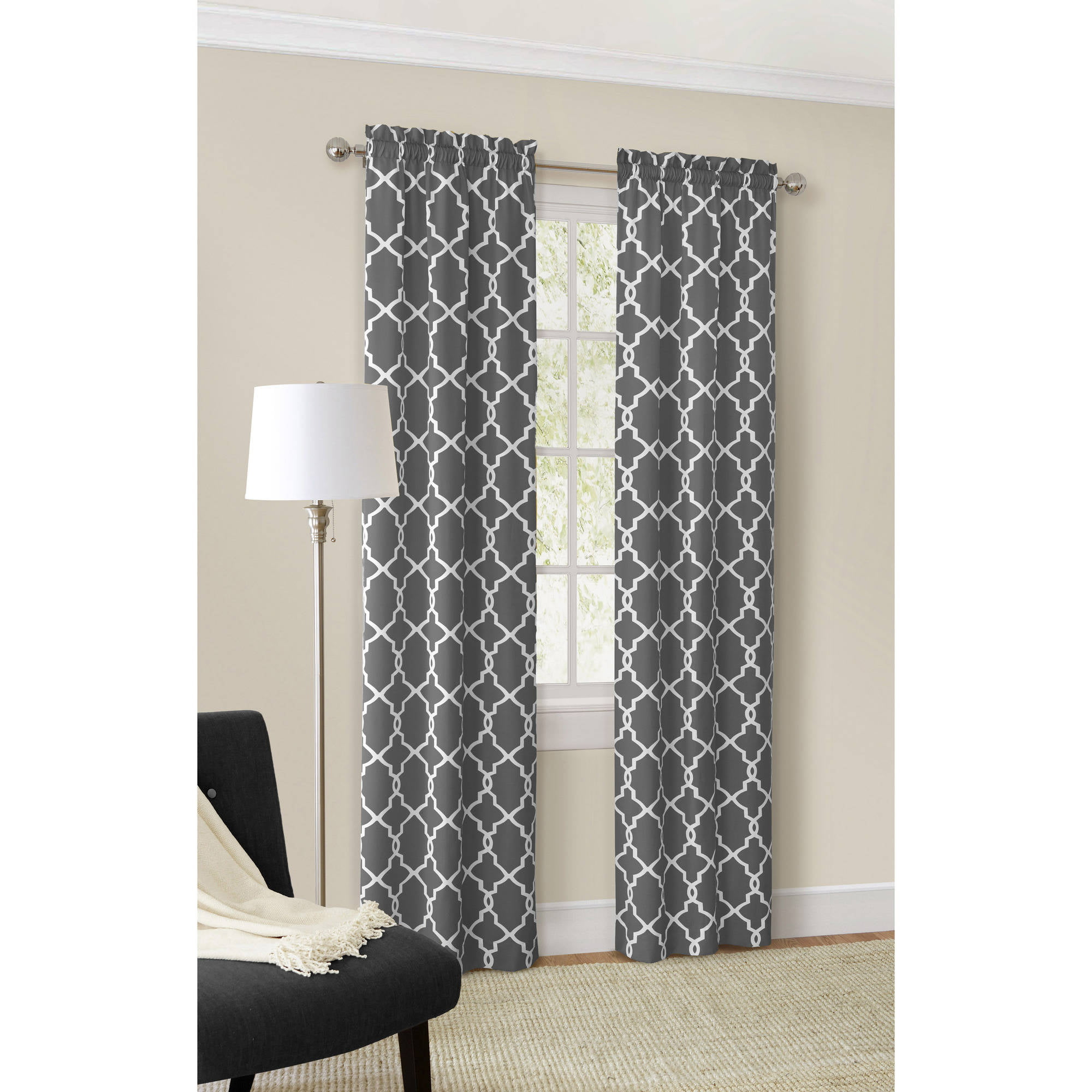 designs scarf sheer drapes pair color home warm dusty of slate dark window come panels curtains ocean grommet affordable top products valances new curtain blue sea with