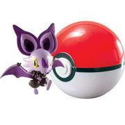 Pokemon TOMY Clip n Carry Pokeball Noibat & Poke Ball Figure Set