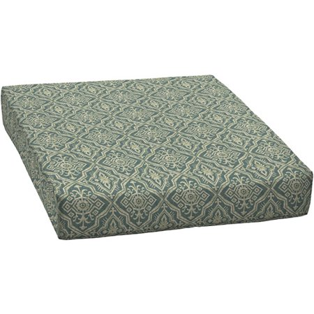 Better homes and gardens outdoor patio deep seat bottom cushion diamond tile for Better homes and gardens deep seat cushion