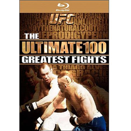 UFC: The Ultimate 100 Greatest Fights (Blu-ray) (Ufc Best Fights Videos)