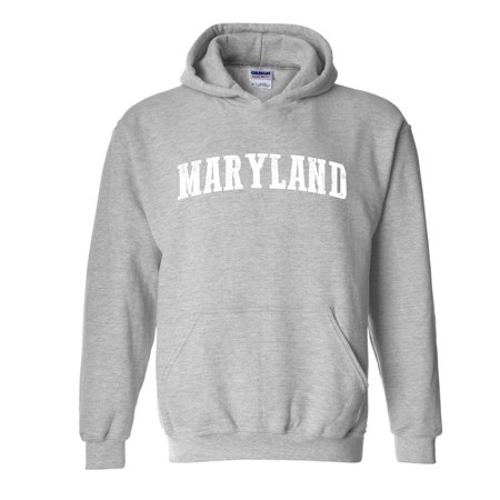 MD Maryland Map Baltimore Flag Terrapins Terps Home University of Maryland  Unisex Hoodies Sweater