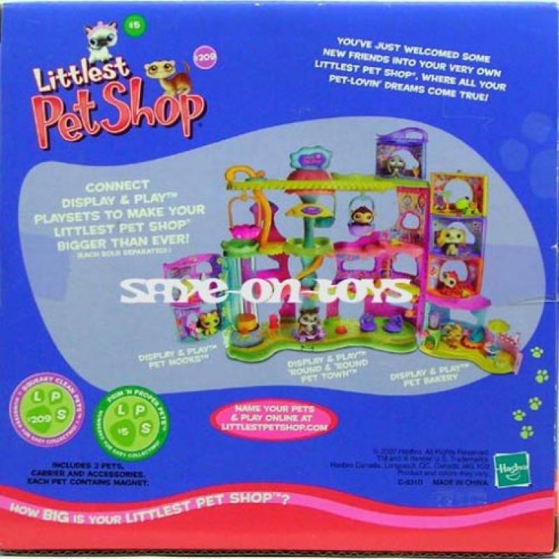 Hasbro Littlest Pet Shop Kitten & Ferret Portable Gift Set