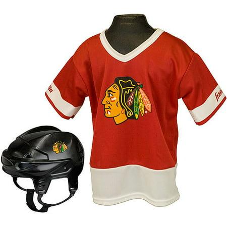 Franklin Sports NHL Kids Team Set, Chicago Blackhawks Costume by