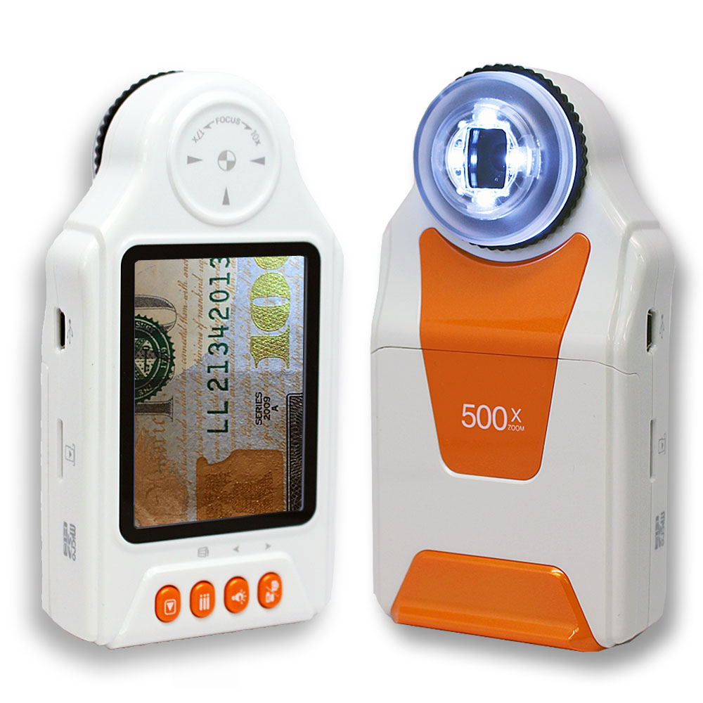 inDigi Wireless Digital Mobile Handheld Magnifier Microsc...