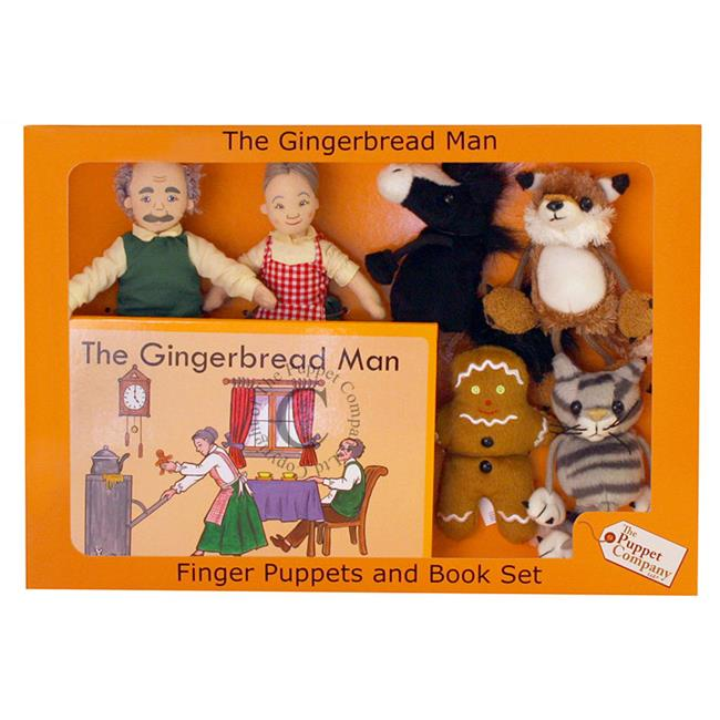 The Puppet Company The Puppet PUC007907 Traditional Story Sets The Gingerbread Man