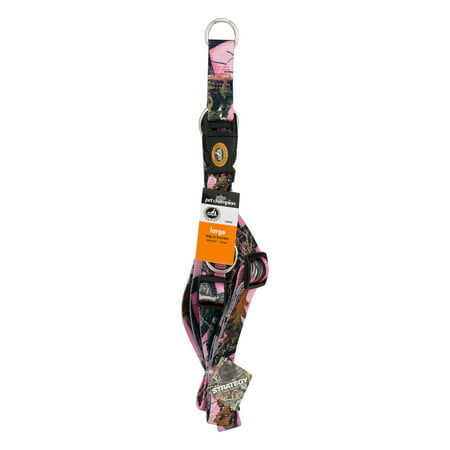 Pet Champion Step In Harness Large Pink Camo, 1.0 CT