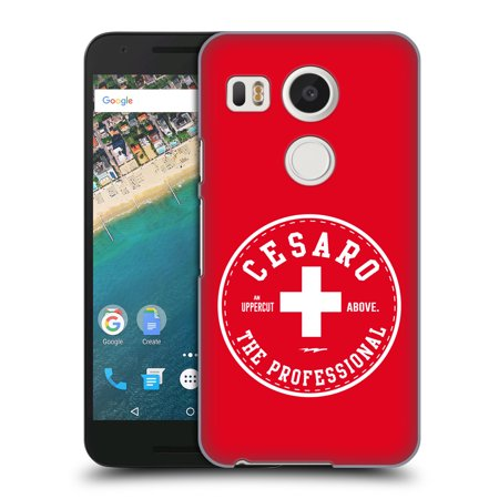 OFFICIAL WWE CESARO HARD BACK CASE FOR LG PHONES 1
