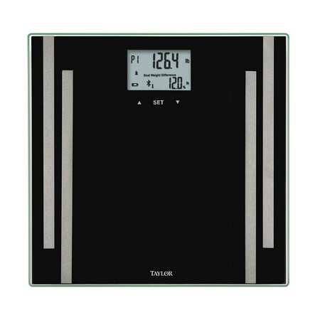 Taylor 7222F Smart Body Composition Analysis Scale with Bluetooth®