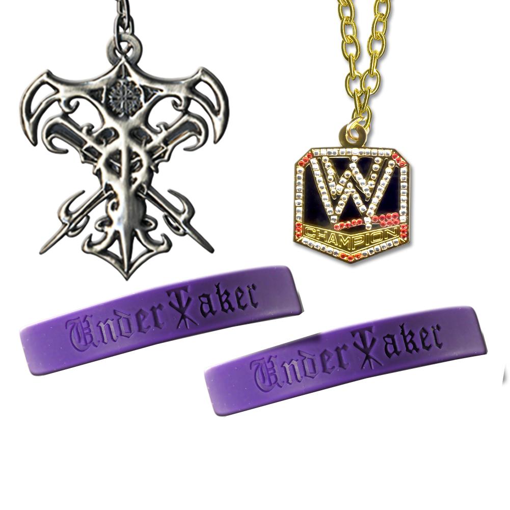 WWE Undertaker 4 Piece Jewlery Deal