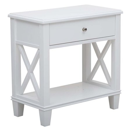 Set of 2 White Nightstands - image 1 of 2