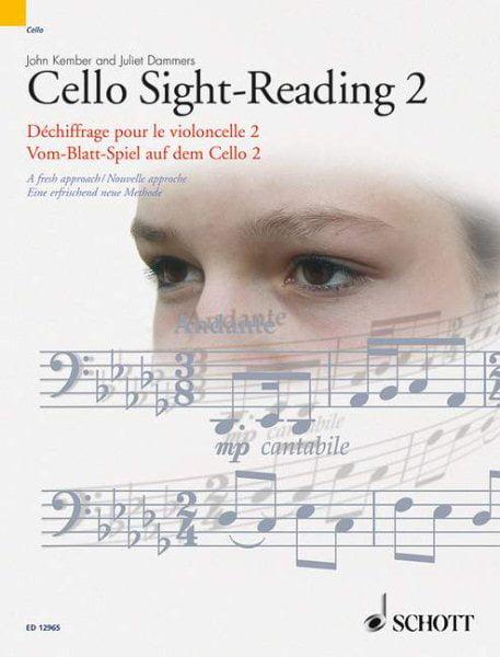 Cello Sight-Reading 2 Dechiffrage Pour Le Violoncelle 2 Vom-Blatt-Spiel Auf Dem Cello 2 :... by