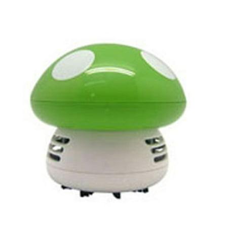 L008 3W 3V Mini Keyboard Desktop Dust Removal Mushroom Desktop Vacuum Cleaner - image 1 de 7