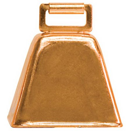 65-4473 2.50 x 2.25 in. Copper Plated Over Steel Cow - Cow Plates