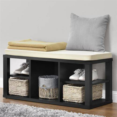 Astounding Ameriwood Home Parsons Storage Bench Multiple Colors Camellatalisay Diy Chair Ideas Camellatalisaycom