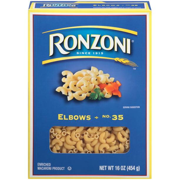 Ronzoni Elbow Macaroni No. 35 Pasta, 16