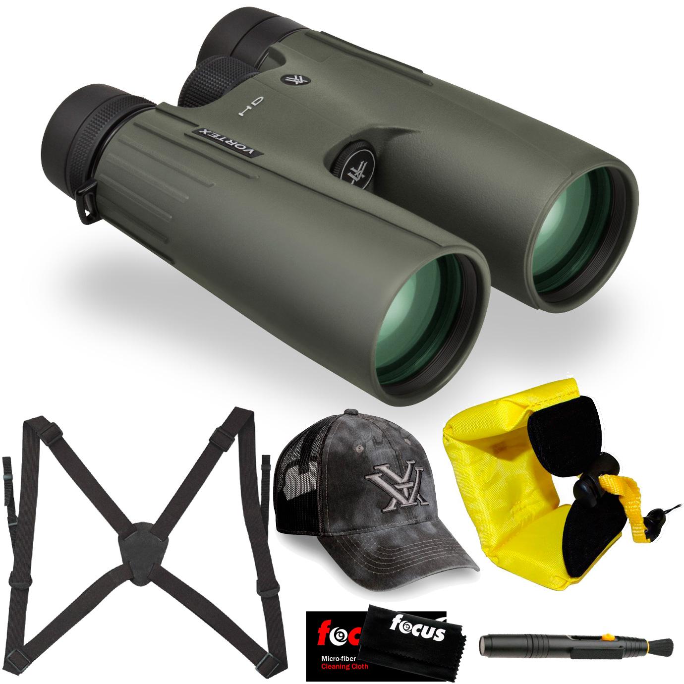 Vortex Optics 15x50 Viper HD Binocular w/ Vortex Hat Bundle