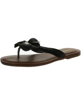83bc2727ce71c2 Product Image Bamboo Women WARNER-31 Flower Thong Sandals