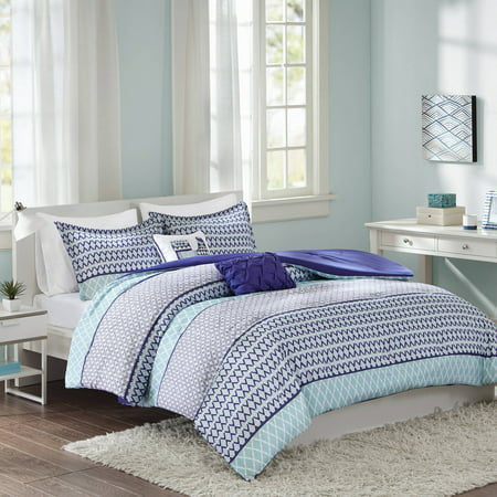 Better Homes And Gardens Banded Geo 5 Piece Comforter Set