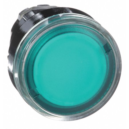 Schneider Electric Illuminated Push Button Operator 22mm Green