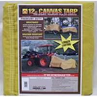 12X18 12OZ CANVAS TARP