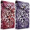 2-PACK: Universal Travel Crossbody Pouch (Pink + Purple Leopard) fits Smartphones up to 6.1-inch - Vegan Leather with Removable Shoulder Strap and Magnetic Button Closure Fun and versatile, the VanGoddy Travel Crossbody Smartphone Pouch is ready for adventure!  With roomy storage space, it fits most smartphones within 6 x 3.25 inches in dimension. Fits smartphones such as the Apple iPhone XR, iPhone XS, iPhone X, iPhone 8, Samsung Galaxy S10, Galaxy S9, Galaxy S8, etc.  Keep your essentials close by utilizing the three separate compartments, all secured by a shared magnetic button flap for easy access.  Use it as a clutch or as a hands-free crossbody with the included removable shoulder strap.  Great as a night or day bag, you can?t go wrong with the VanGoddy Travel Crossbody Smartphone Pouch. Try it out today and reap the benefits of added convenience!