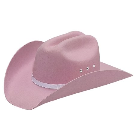Youth Pink Felt Cowgirl Hat X-Large e0eca051b817