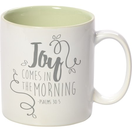 Precious Moments Bountiful Blessings Joy Comes In The Morning Stoneware 11oz Coffee Mug 173414 ()