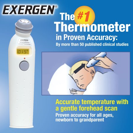 Exergen Temporal Artery Thermometer Walmart