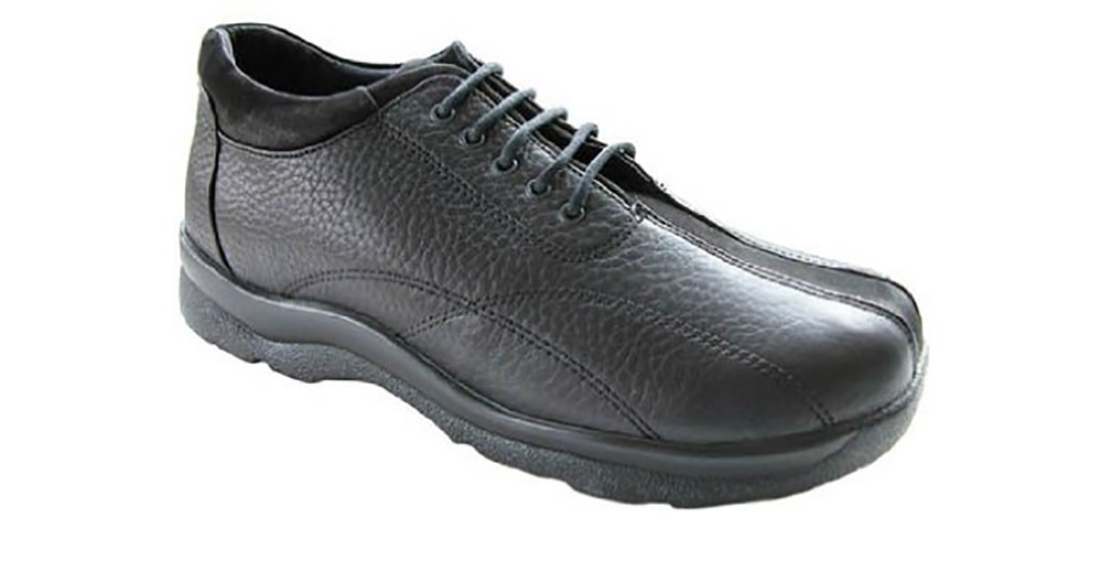 Aetrex Men's Black Y700 Casual Walking Shoe by Aetrex