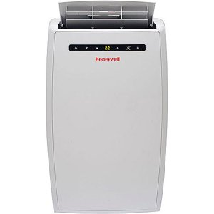 Honeywell MN10CESWW 10,000 BTU 115V Portable Air Conditioner up to 450 sq. ft. with Front Grille and Remote Control, White