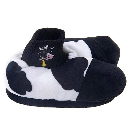 Cow Animal Feet Mooing Kids Slippers for $<!---->