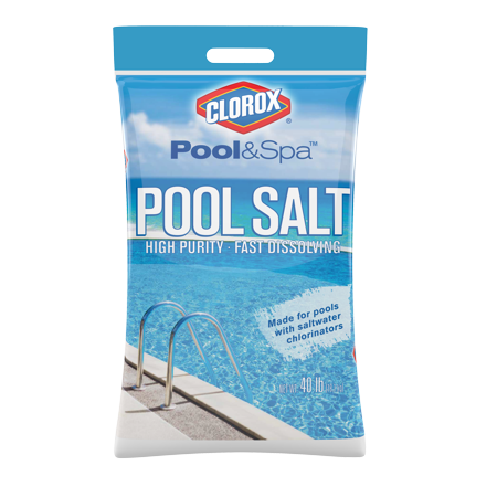 Winter Pool Chemical - Clorox Pool Salt
