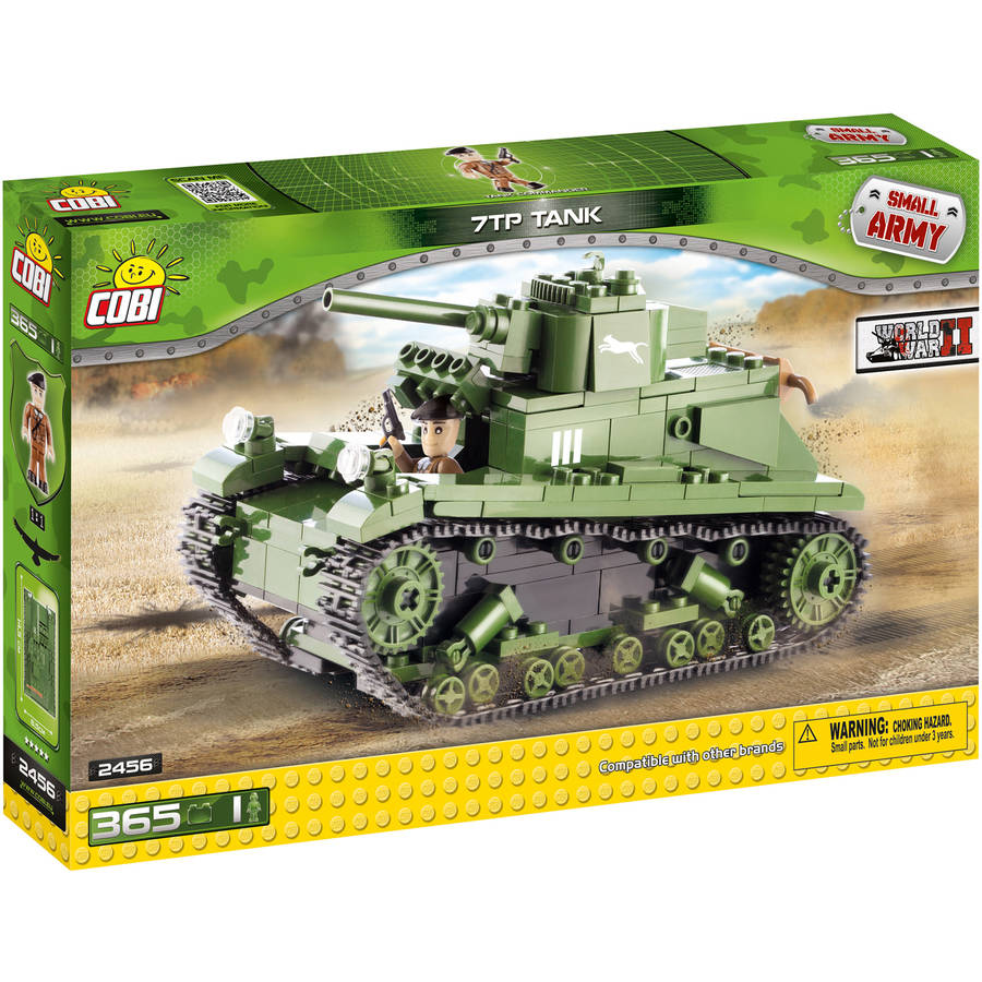 Cobi Small Army Polish 7TP Tank Construction Blocks Building Kit