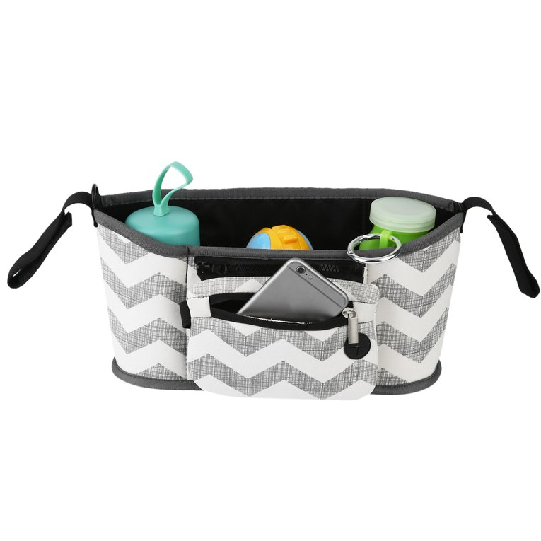 Travel Infant Baby Pram Storage Bag Diaper Bottle Organizer Pushchair Basket