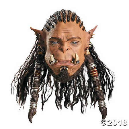 Durotan Orc Warrior Deluxe Mask](Orc Mask)