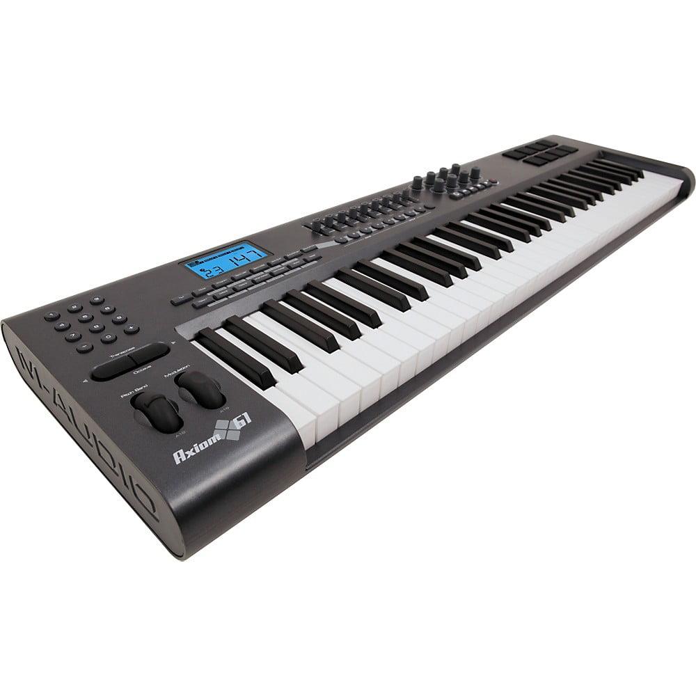 M Audio Axiom Midi Controller : m audio axiom 61 61 key usb midi keyboard controller ~ Vivirlamusica.com Haus und Dekorationen