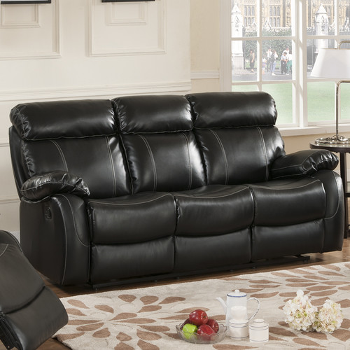 Primo International Chateau Leather Reclining Sofa