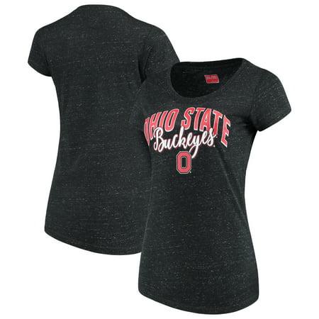 Ohio State Buckeyes Women's Scoop Slub T-Shirt - (Ohio State University Block)