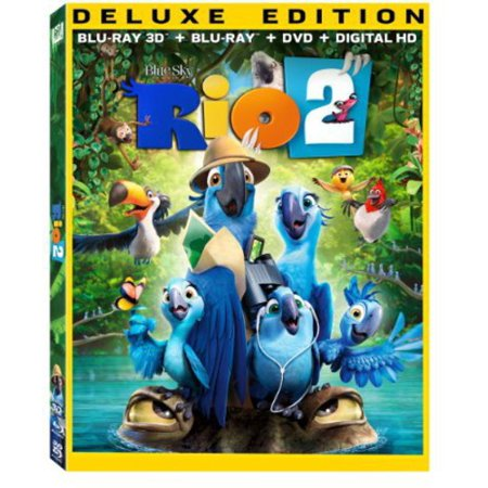 Rio 2  Blu Ray   Blu Ray   Dvd   Digital Copy