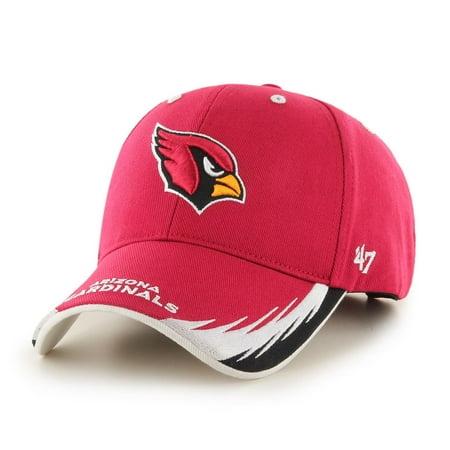 NFL Brand '47 TAKEDOWN MVP ADJUSTABLE CAP CARDINALS