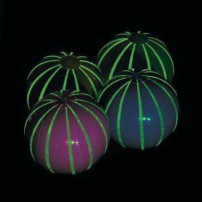 In-13685120 Inflatable Glow-In-The-Dark Large Striped Beach Balls Per Dozen - Large Inflatable Beach Ball
