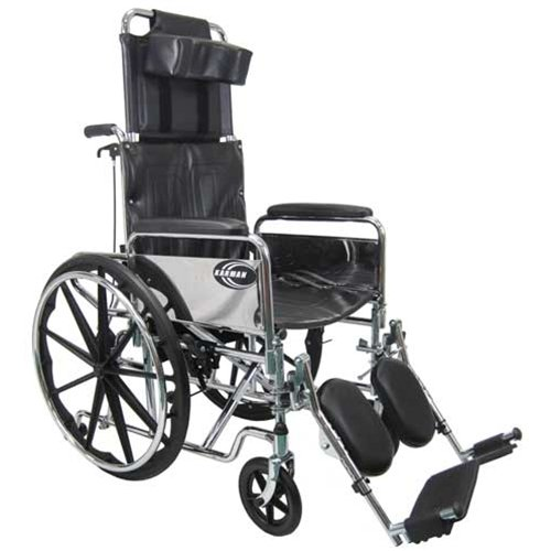 "Karman Healthcare Standard Reclining Wheelchair (20"" Seat)"