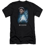 Star Trek Beyond Bones Poster Mens Premium Slim Fit Shirt
